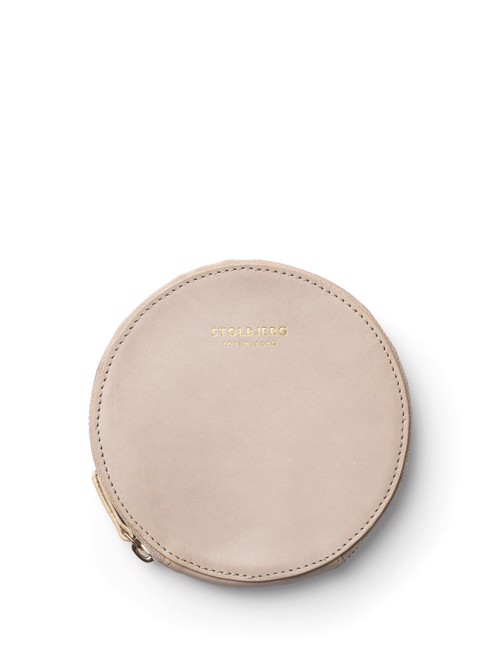 Wallet <br /> Taupe dyed skin