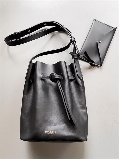 Mini Bucket Bag - Black shoulder bag
