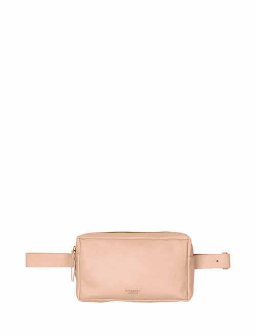 Bum Bag  <br /> Blush dyed skin