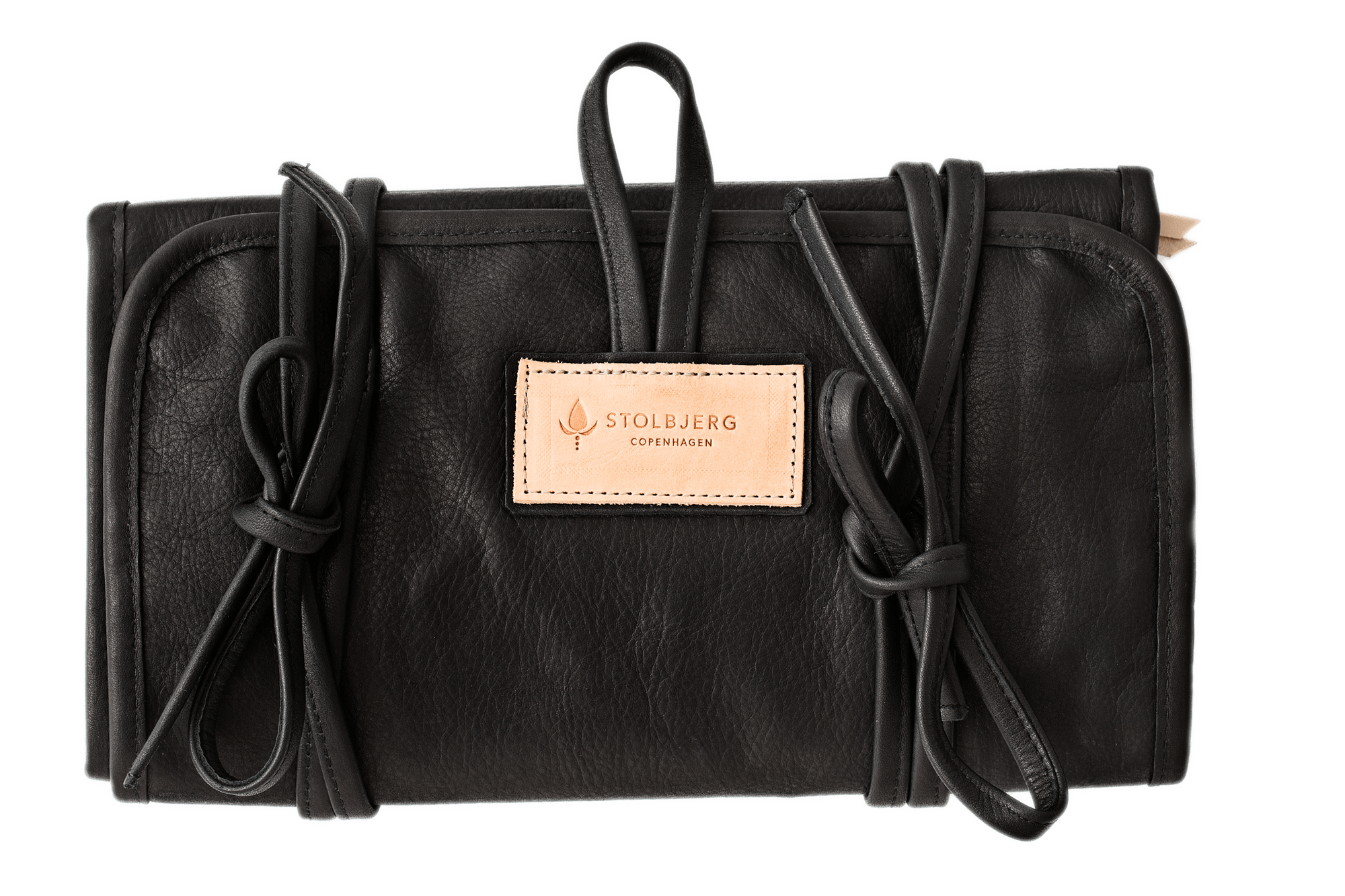 Infinitybag <br/> Black leather size S